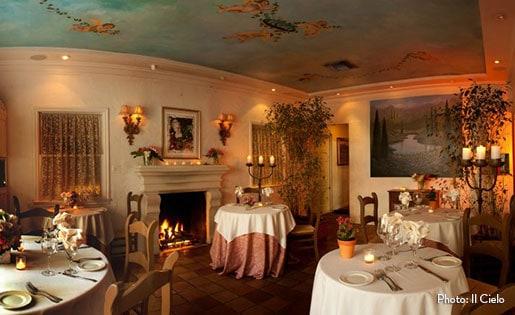 Romantic dating restaurant in los angeles