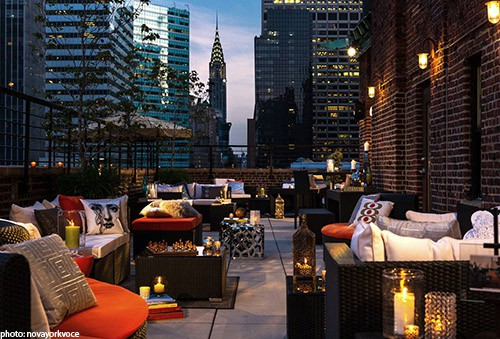 The Attic Rooftop Lounge New York City