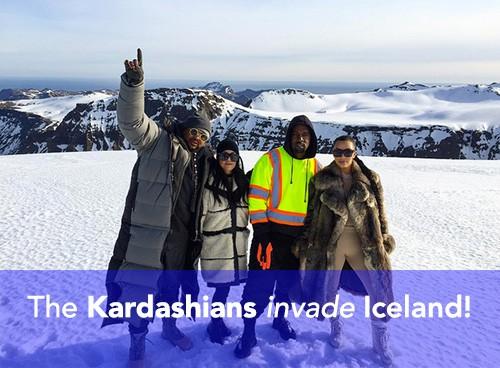 Kardashians Iceland Locations