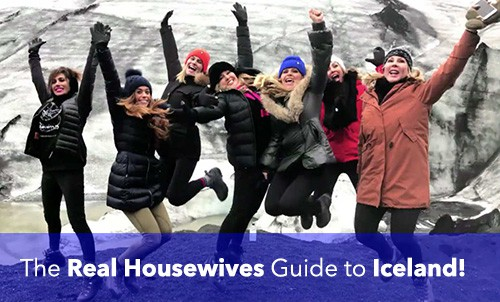 Where did the Real Housewives stay in Iceland