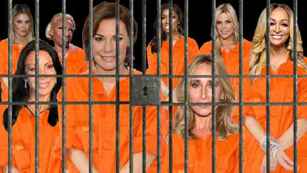15 Real Housewives Who Have Been Arrested! | Taste of Reality