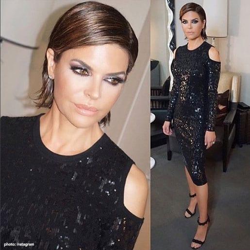 Lisa Rinna Fashion Week