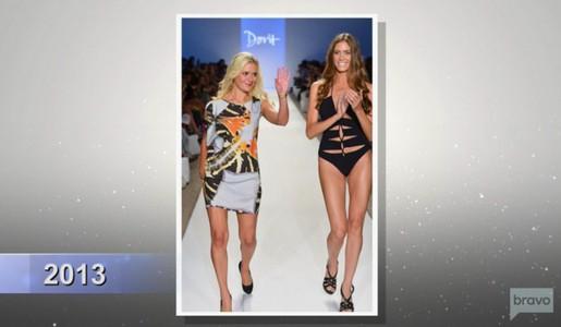 Dorit Kemsley fashion show