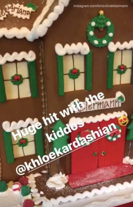 Kim Zolviak Biermann Gingerbread house