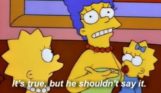 Marge Simpson Quote