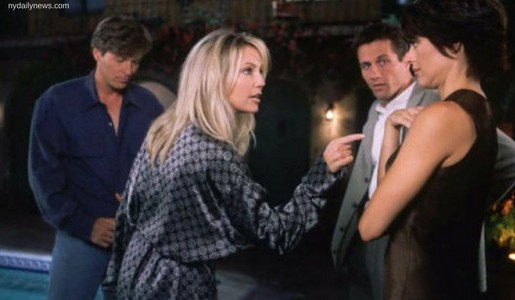 Lisa Rinna and Heather Locklear on Melrose Place