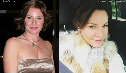 Luann de Lesseps Then & Now