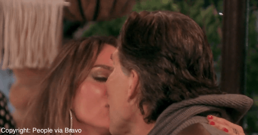kelly making out