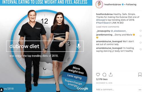 rhobh dubrow diet