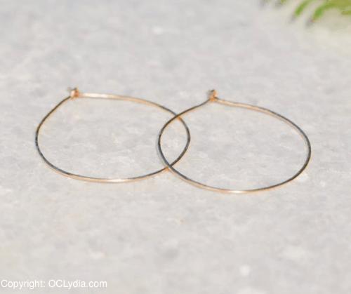 day gold earrings
