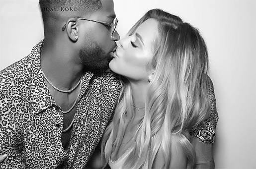 KHLOE K AND TRISTAN