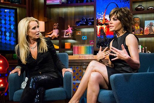 Lisa Rinna and Kim Richards