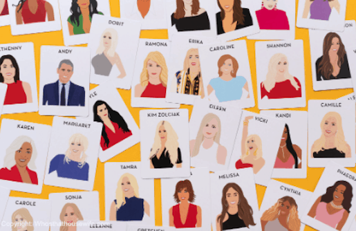 housewives cards