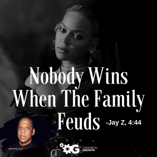 beyonce jay z family feud