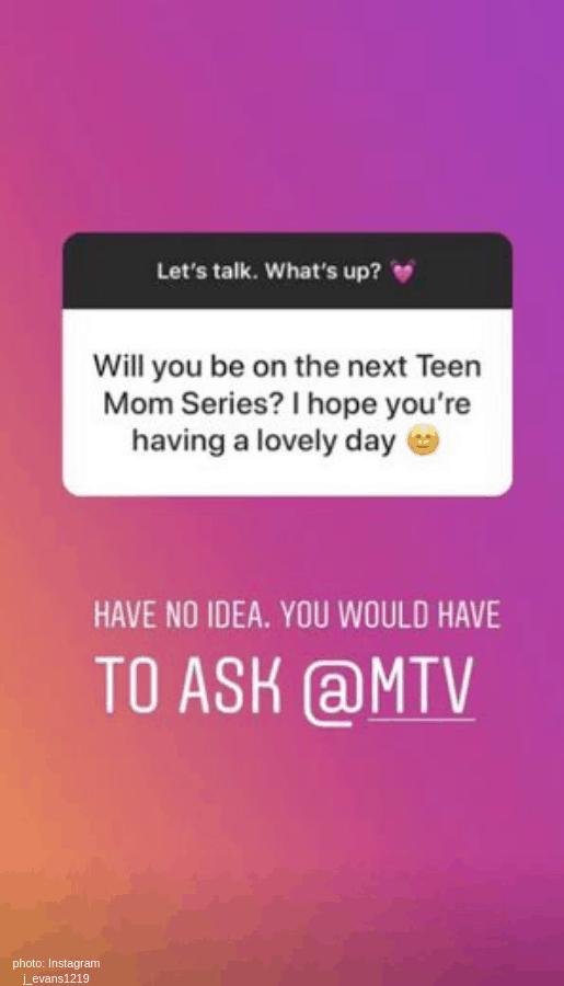 mtv jenelle back on teen mom