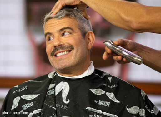 andy cohen shaves beard on today show leaves mustache