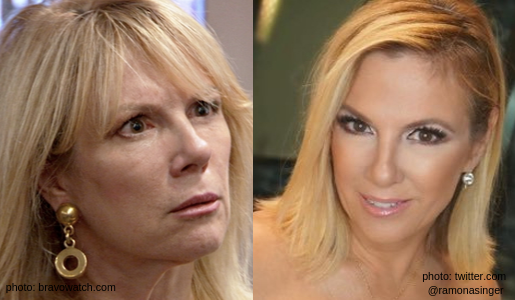 rhony ramona singer transformation then and wow