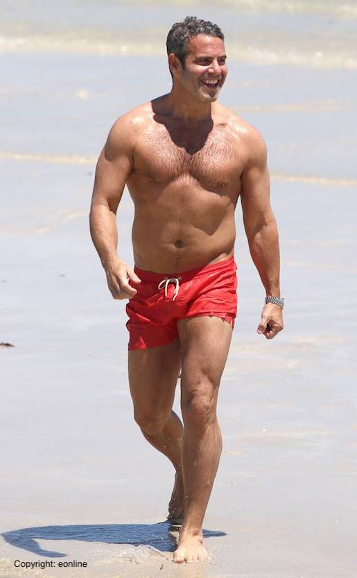 andy cohen gym bod