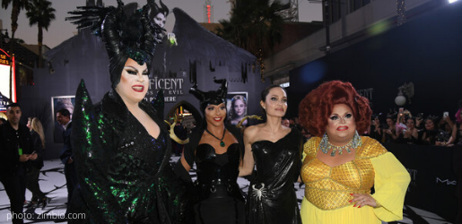 angelina jolie ginger minj shangela nina west Maleficent: Mistress of Evil