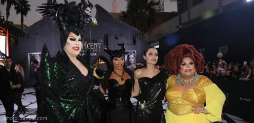 angelina jolie ginger minj shangela nina west Maleficent: Mistress of Evil