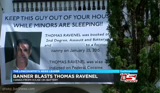 southern charm thomas ravenel banner keep him away from children cocaine rape sexual misconduct accusations leo