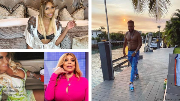 growing up hip hop madina milana wendy williams friend drags nene leakes for cheating affair allegedly rapper french montana