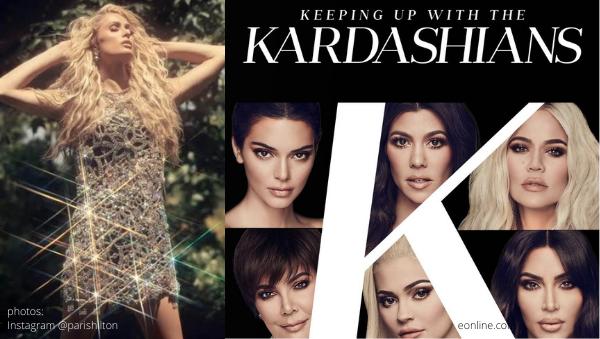 paris hilton comments on keeping up with the kardashians ending the simple life kuwtk e kim khloe kourtney kardashian kris jenner kendall kylie