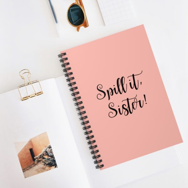 spill it sister notebook