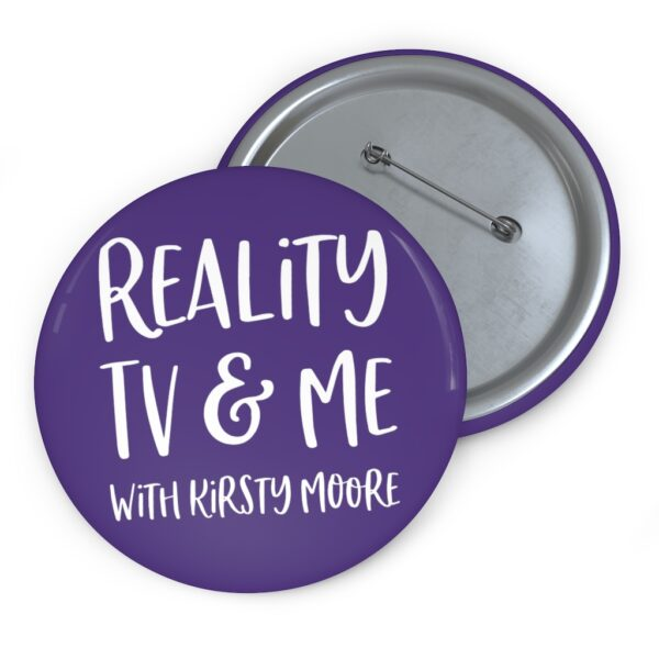reality tv & me button