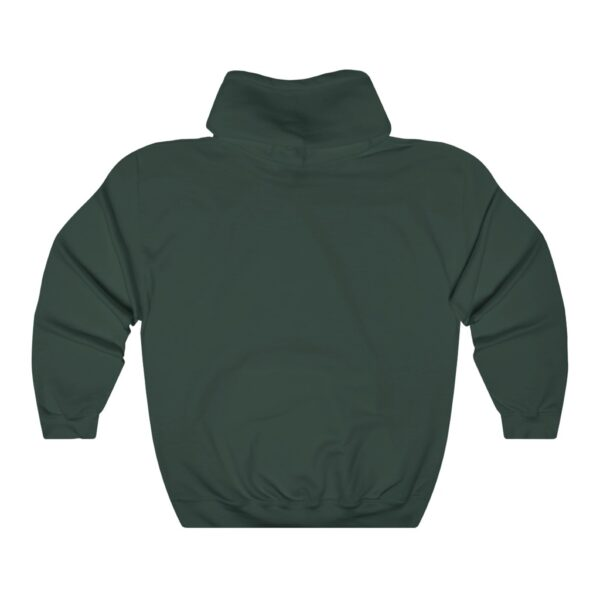 spill it sister hoodie green back