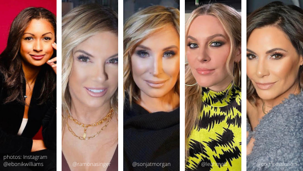 rhony real housewives of new york covid 19 coronavirus season 13 luann de lesseps countess ramona singer leah mob sonja morgan eboni williams