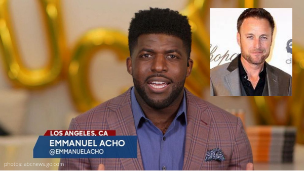 emmanuel acho replace chris harrison after the final rose bachelor nation the bachelor the bachelorette bachelor in paradise bip