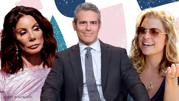 andy cohen dana wilkey rhobh real housewives of beverly hills erika jayne girardi the housewife and the hustler danielle staub rhonj real housewives of new jersey