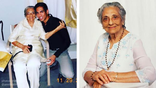 family karma bravo amrit kapai nani passed away died